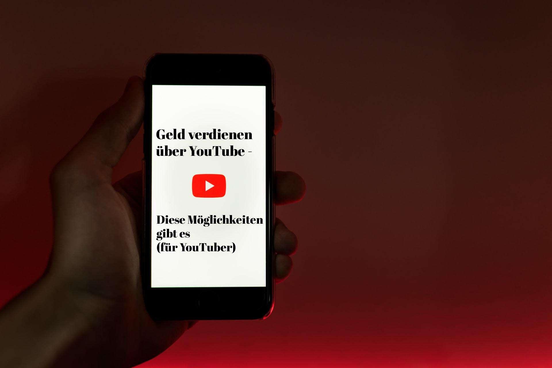 Geld verdienen über Youtube